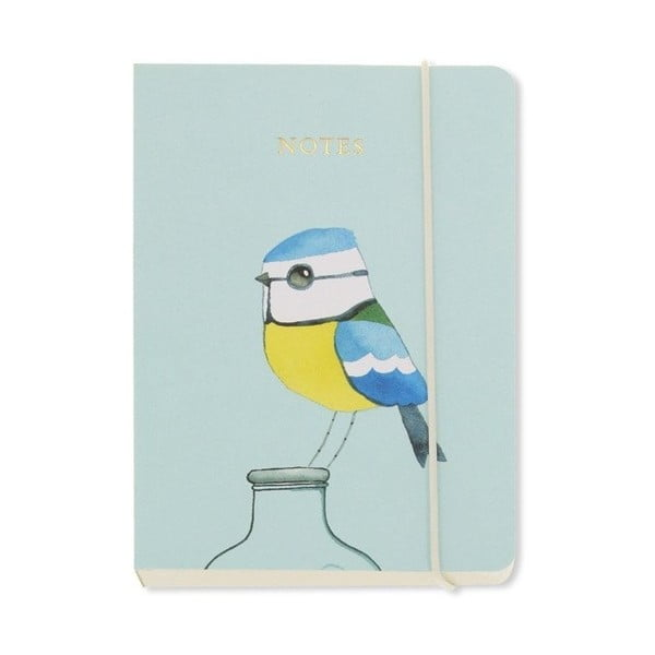 Agendă A6 Go Stationery Blue Tit