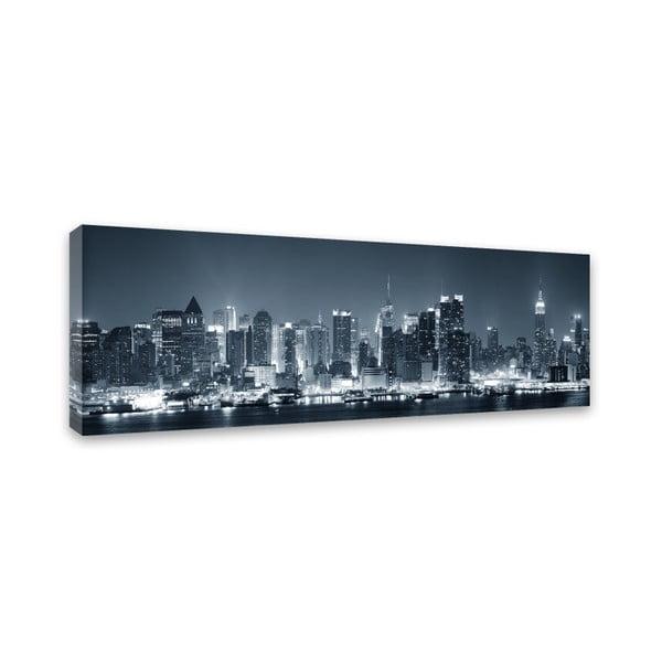 Canvas Manhattan Foto fali kép, 45 x 140 cm - Styler
