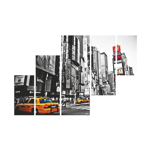 5dílný nástěnný obraz Times Square