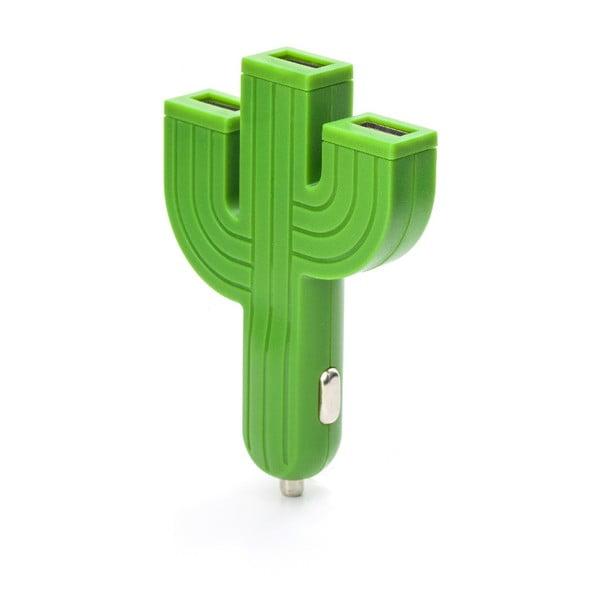 Încărcător de mașină Kikkerland Cactus