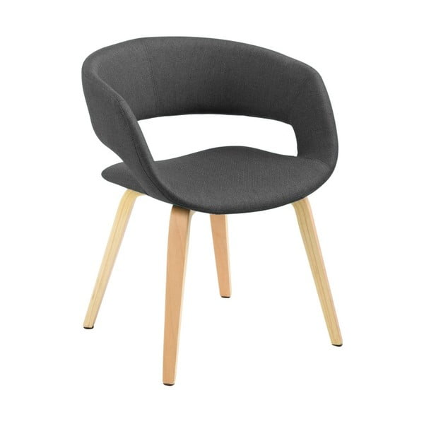 Ciemnoszare krzesło Actona Grace