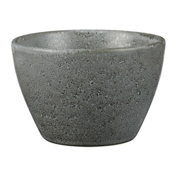 Šedá kameninová miska Bitz Mensa, průměr 13 cm