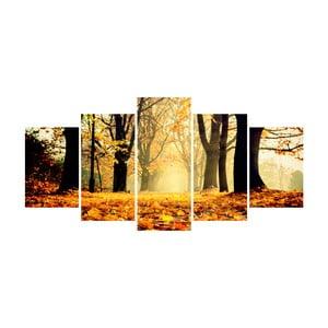 Vícedílný obraz La Maison Des Couleurs GoldenForest