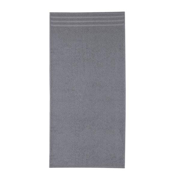 Set tmavě šedých osušek, 50x100 cm, 2 ks