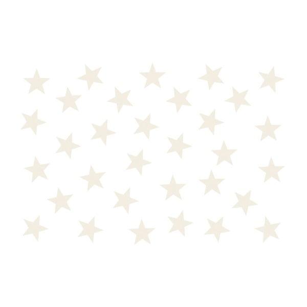 Tapet format mare Bimago Beige Stars, 400 x 280 cm