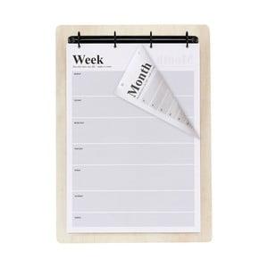 Nástěnný kalendář House Doctor Eternity, A3