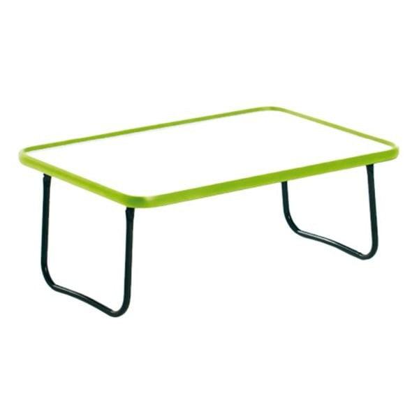 Skládací snídaňový podnos Bed Tray, zelený