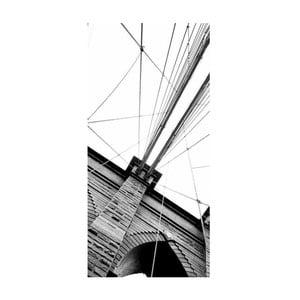 Obraz na plátně U mostu, 100x50 cm