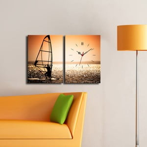 Obrazové hodiny Na moři