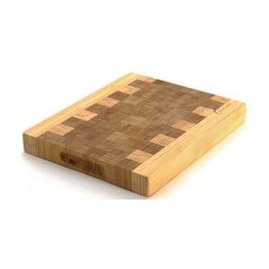 Bambusové krájecí prkénko Eartchef, 28x23x3,2 cm