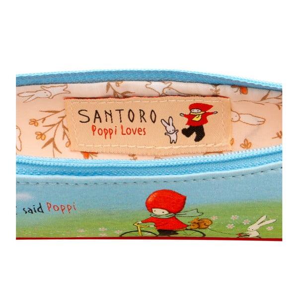 Menší penál na psací potřeby Santoro London Poppi Loves Discipline