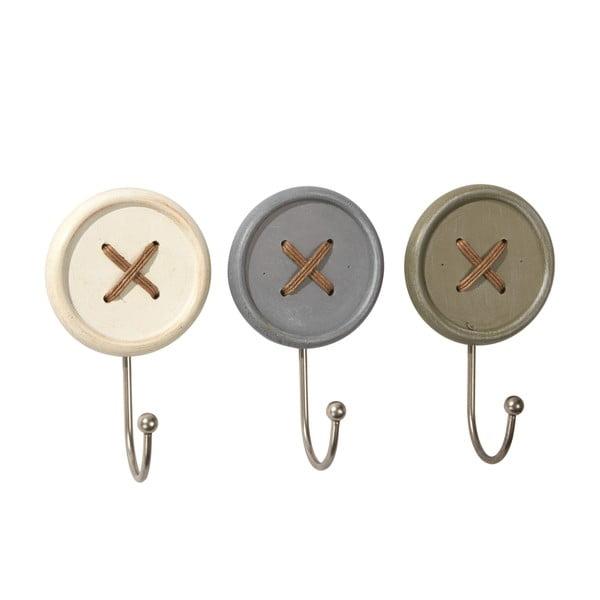 Sada 3 háčků Ludic Buttons