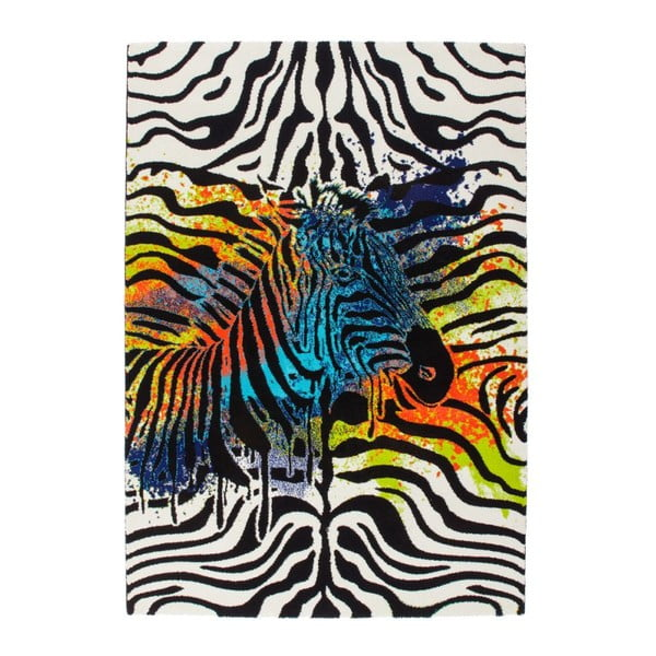 Koberec Aztec 495 Zebra, 80x150 cm