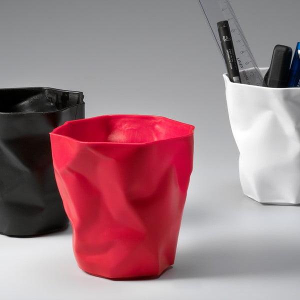 Czerwony kubek na ołówki Essey Pen