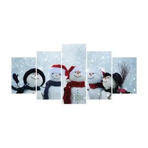 Vícedílný obraz La Maison Des Couleurs Snowmen