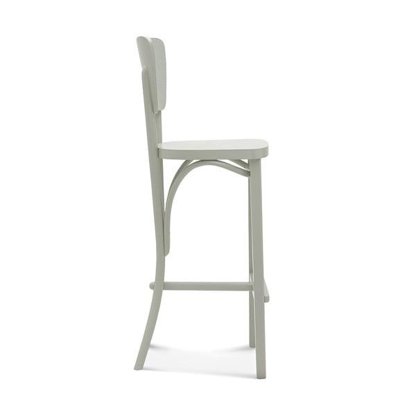 Šedá barová dřevěná židle Fameg Gitte