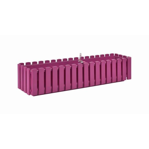 Jardinieră cu auto-irigare Gardenico Fency Smart System, lungime 75 cm, roz fucsia