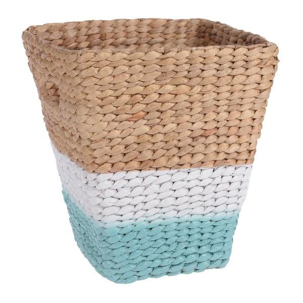 Hnědo-zelený košík z mořské trávy InArt Hyacinth