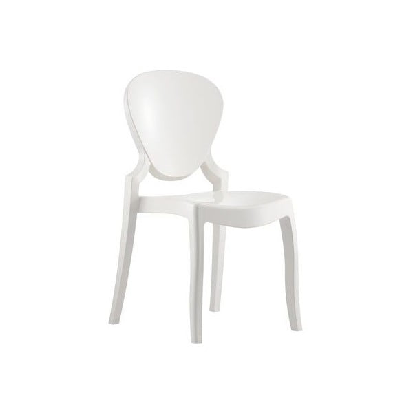 Židle Queen 650, bílá