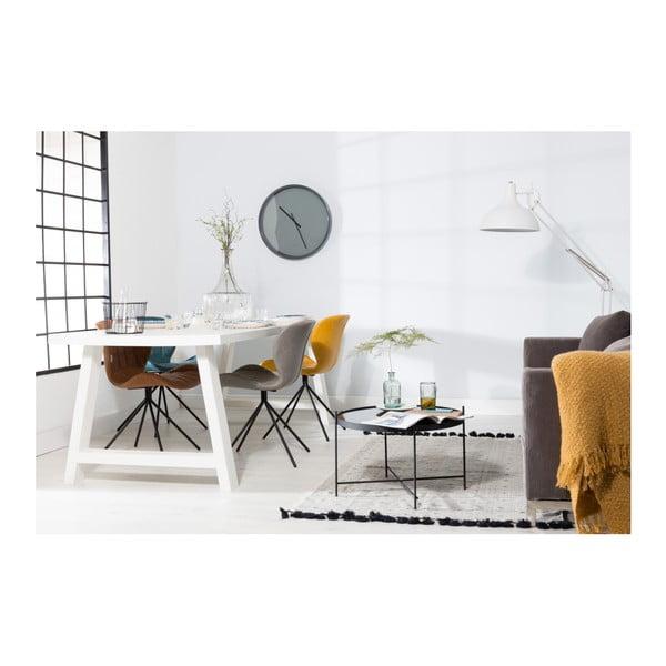 Bílý stůl z masivního dřeva Zuiver A Framed, 200 x 90 cm