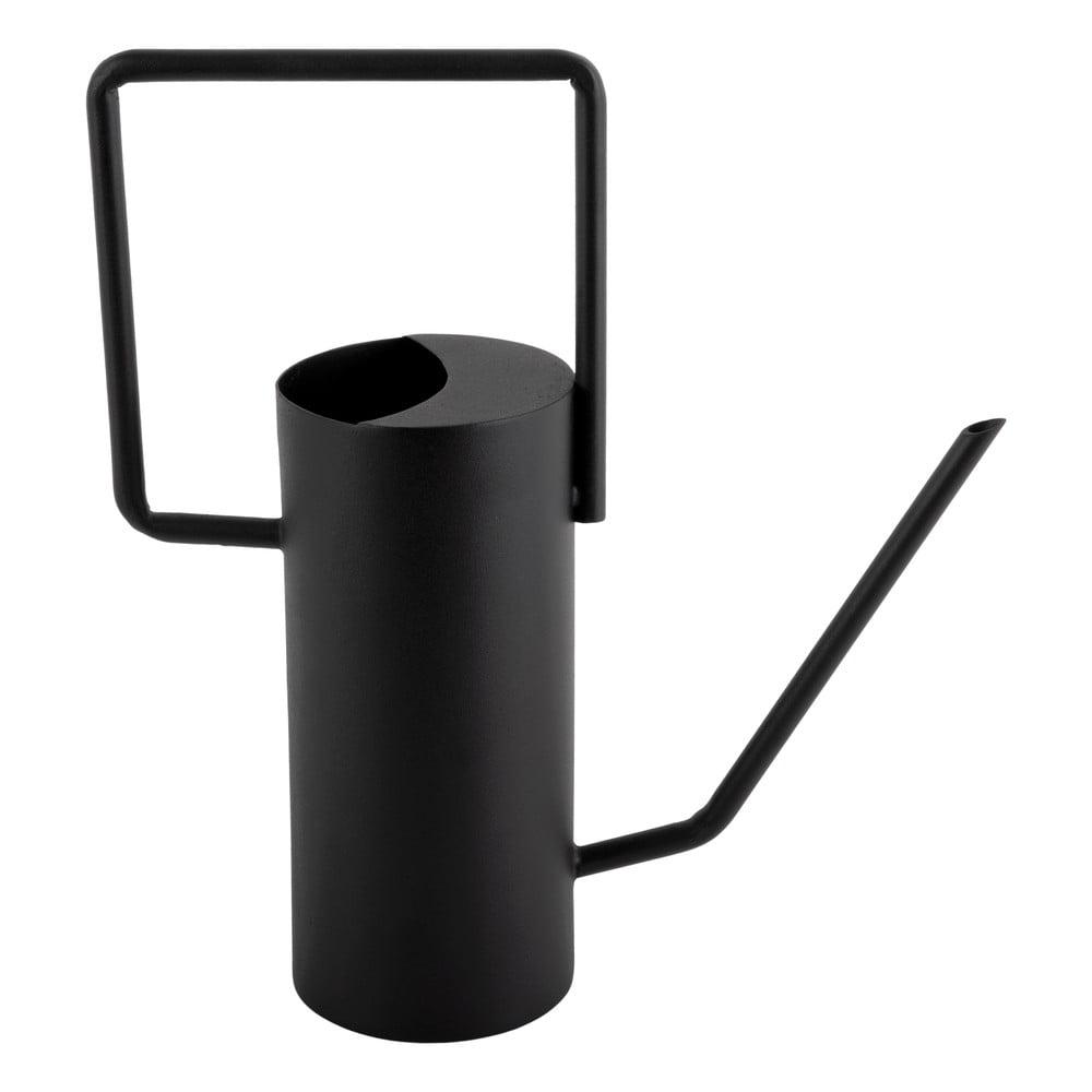 Černá kovová konvička PT LIVING Grace, výška29cm