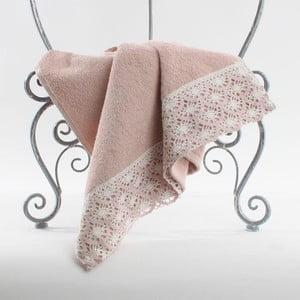 Ručník Pink Lace, 90x50