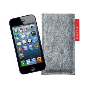 Plstěný obal na iPhone 5/5C/5S, marble grey