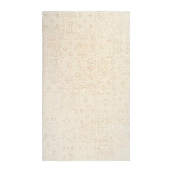 Krémový koberec Floorist Mosaic Cream, 140x200cm
