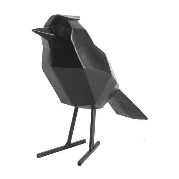 Černá dekorativní soška PT LIVING Bird Large Statue