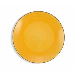 Sada 6 jasně žlutých talířů Villa d´Este Baita, ø 19 cm