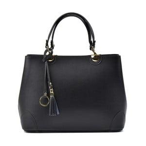Černá kožená kabelka Isabella Rhea Mismo