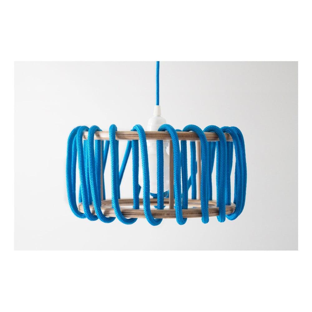 Modré stropní svítidlo EMKO Macaron, 45cm