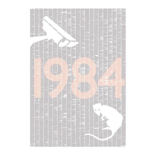 Knižní plakát 1984, 70x100 cm