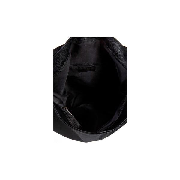 Černá kožená kabelka Massimo Castelli Orisa