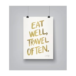 Poster Americanflat Travel Often, 30 x 42 cm