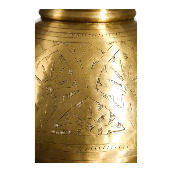 Váza ve zlaté barvě Denzzo Joachim, výška25,4cm