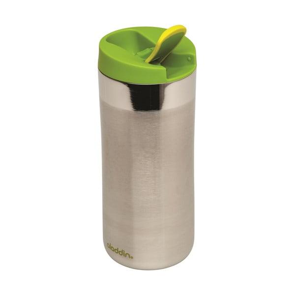 Nerezový termohrnek se zeleným víčkem Aladdin Flip-Seal™,350ml