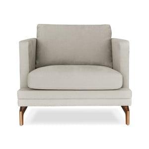 Béžové křeslo Windsor&Co. Sofas Jupiter