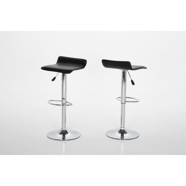 Barová židle Dan, černá