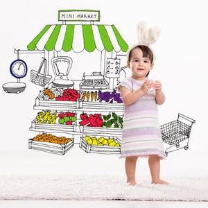 Samolepka Minimarket, 58x65 cm