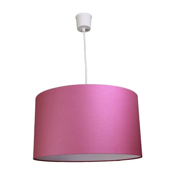 Závěsné světlo White Inside One Pink