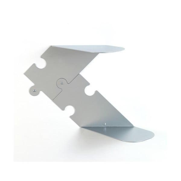 Puzzle, stříbrná, 2 ks