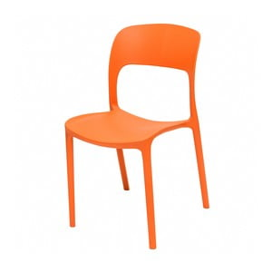 Oranžová židle Ragaba UFO