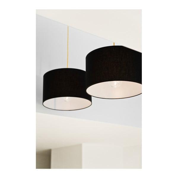 Závěsné svítidlo Tres XL, černá/černá
