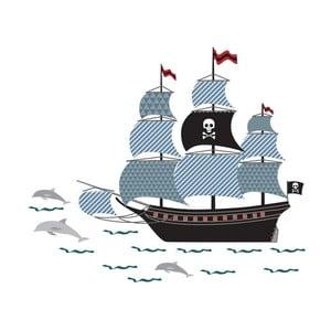 Autocolant Art For Kids Pirate Ship