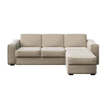 Canapea extensibilă MESONICA Munro 288 cm L crem
