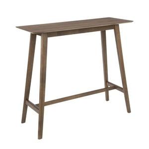 Hnědý barový stolek Ixia Nórdico