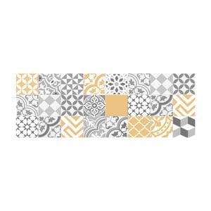 Vinylový koberec Floorart Collage Con Amarillo Liso, 50 x 140 cm