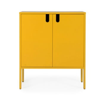 Dulap Tenzo Uno, lățime 80 cm, galben de la Tenzo