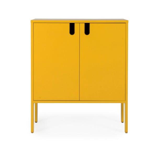 Žltá skriňa Tenzo Uno, šírka 80 cm